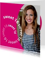 spiraal sweet 16 met foto