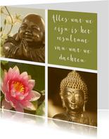 Spirituele kaart Boeddha quote 2