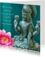 Spirituele kaart Boeddha Tara 2