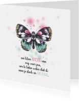 Sprookjesachtige vlinder