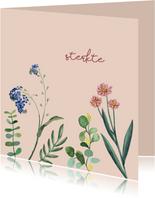 Sterkte - bloem - sterktekaart