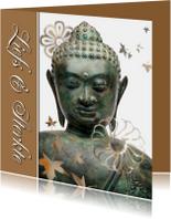 Sterkte kaart Buddha - liefs en sterkte