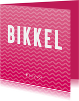 Sterkte kaarten - Sterkte kaart voor een Bikkel die ernstig ziek is.
