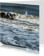 Sterkte Krachtige golven