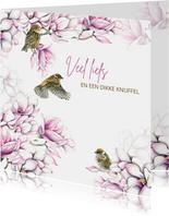 Sterkte magnolia vogeltjes