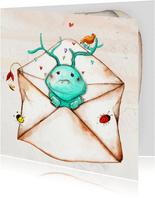 Sterkte of knuffel in een envelop