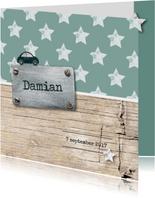 Stipt geboortekaartje Damian