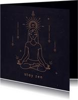 Succes kaart Zen