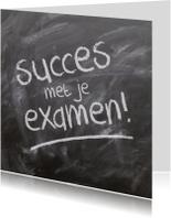 Succes kaarten - Succes met je examen kaart
