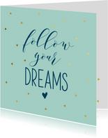 Succeskaart dreams