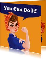 Succeskaart You Can Do It!