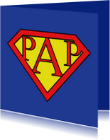 Vaderdag kaarten - Super papa