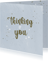 Thinking of you - medeleven kaart
