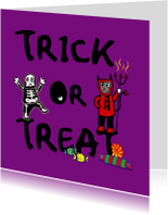 Trick or treat ! Halloween-IR
