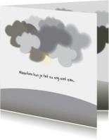 Sterkte kaarten - Troostkaart Clouds