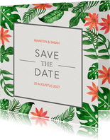Tropical Save the Date - DH