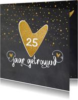 Uitnodiging 25 getrouwd - LO