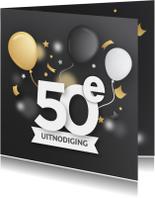 Uitnodigingen - Uitnodiging 50 jaar verjaardag