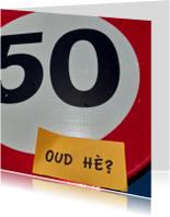 uitnodiging 50 jaar