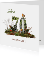 Uitnodiging 70 jaar vogels en bos