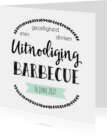 Uitnodiging Barbecue - WW