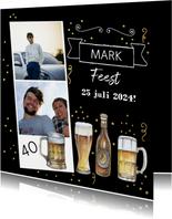 Uitnodiging bier foto