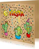 Uitnodiging Fiësta Cactus Mexico