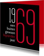 Uitnodigingen - Uitnodiging geboorte 1969 sara