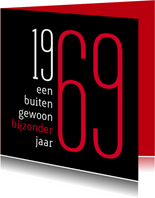 Uitnodiging geboorte 1969 sara