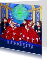 Jubileumkaarten - Uitnodiging - Groen licht