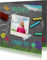 Uitnodiging lente krijt - BK
