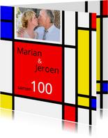 Uitnodiging Mondriaan samen 100
