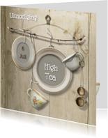 Uitnodiging Scrapbook High Tea - SG