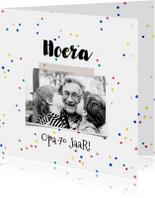 Uitnodiging verjaardag opa feest