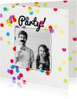 Uitnodiging verjaardag party