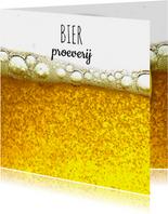 Uitnodiging voor bierproeverij