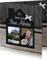 Umzugskarte Romantisches Haus