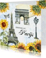 Vakantie Parijs eifeltoren