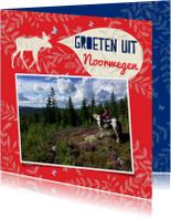 Vakantiegroeten uit Noorwegen met eigen foto's