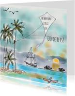 Vakantiekaart Tropische Vlieger