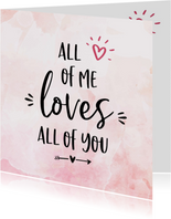 Valentijn - all of me loves al of you