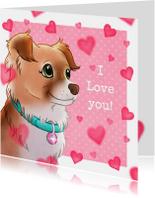 Valentijnskaart Chiwowy Penny