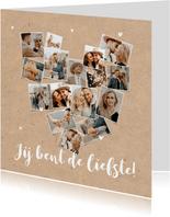 Valentijnskaart fotokaart collage hart kraft hip