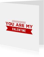 Valentijnskaart you are my - LB