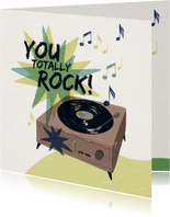 Valentinskarte 'You Totally Rock'
