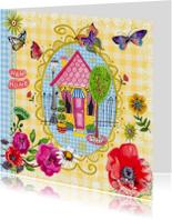 Verhuiskaart BB Bloemen Cartita Design