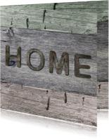 verhuiskaart Home hout 3 kleuren