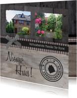 Verhuiskaart Klassiek Eigen foto