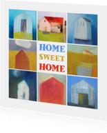 Verhuiskaart kunst huizen