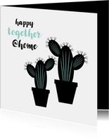 Verhuiskaart samenwonen cactus